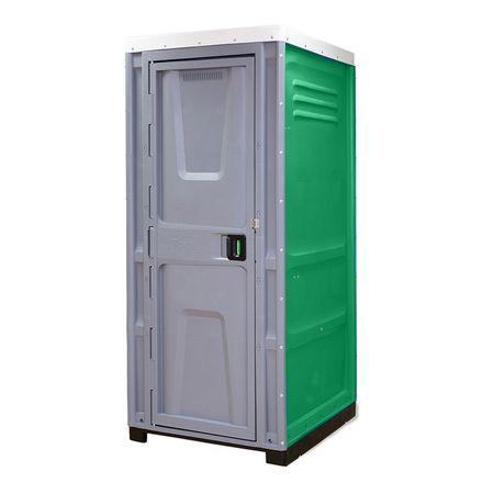 Toaleta cabina ecologica tip turcesc cu lavoar ICTET05V, Verde