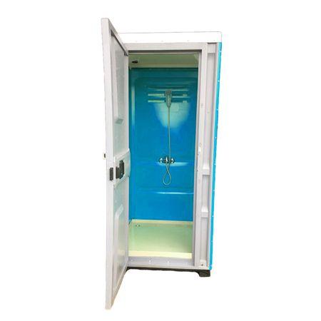 Toaleta cabina ecologica tip dus ICTET07A, Albastru