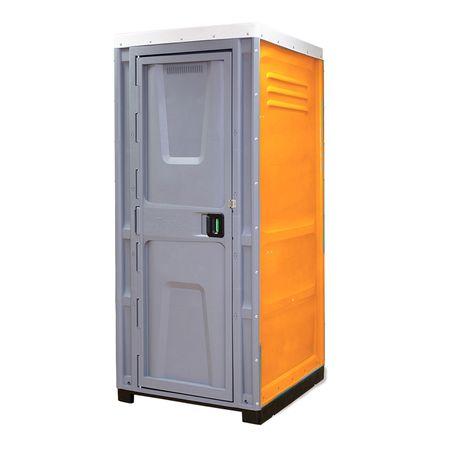 Toaleta cabina ecologica tip dus ICTET07P, Portocaliu