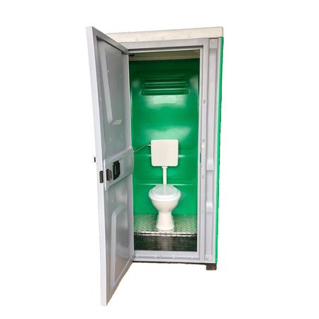 Toaleta cabina ecologica racordabila fara lavoar ICTET04V, Verde