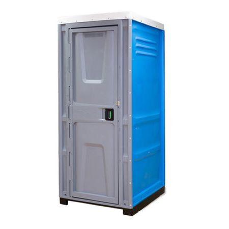 Toaleta cabina ecologica tip turcesc cu lavoar ICTET05A, Albastru