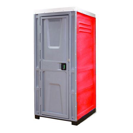 Toaleta cabina ecologica racordabila fara lavoar ICTET04R, Rosu